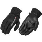 FIRSTGEAR ULTRA MESH-NEW MENS LEATHER GLOVES, BLACK, LARGE/LG