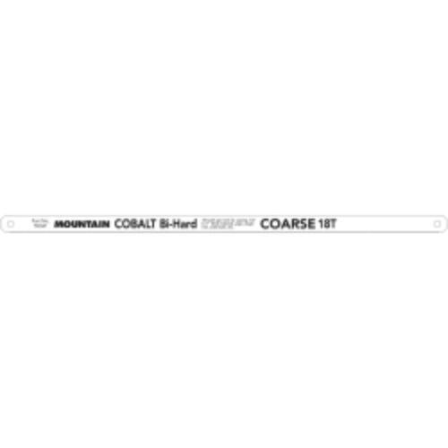 OKSLO Mountain 55343 32t X 12 Cobalt Bi-Hard Hacksaw Blade