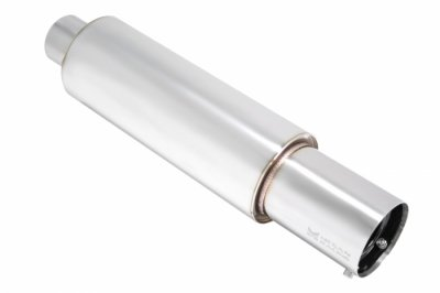[Megan Racing MR-MU-N45 Universal Muffler (Small Canister N1 Style 2.5