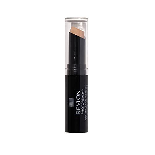 Revlon PhotoReady Concealer Stick, Creamy Medium Coverage Color Correcting Face Makeup, Light Medium (003), 0.16 oz
