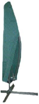 Kronenburg Schutzhülle Ampelschirm Abdeckhaube, Grün, bis 500 cm Durchmesser