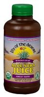 Lily of the Desert Organic Whole Leaf Aloe Vera Juice, 16...