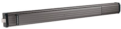 C.R. LAURENCE 311295C3313 CRL Dark Bronze 36'' Jackson 1295 Push Pad Non-Handed Rim Panic Exit Device by C.R. Laurence