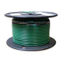 Green Tinned Wire (8 AWG Tinned Marine Primary Wire, Green, 50 Feet)