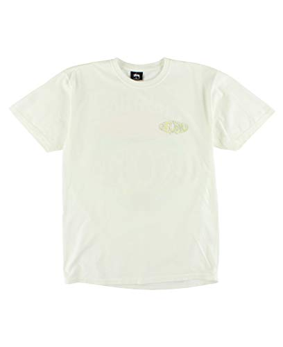 Stussy Men T-shirt - Stussy Atomic Pig. Dyed Men's Natural (Medium)