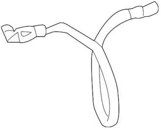 Amazon Com Genuine Mercedes Benz Neg Cable 220 540 02 31 98 Automotive