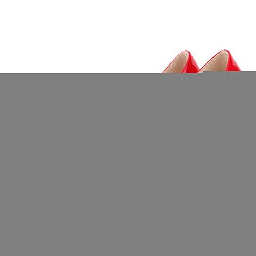 Teräväkärkiset Juhlakengät Pumput Toe Naisten Punainen Samsay Korkokengät Tq0aaw