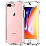 JETech Case for Apple iPhone 8 Plus and iPhone 7 Plus, Shock-Absorption Bumper Cover (HD Clear)