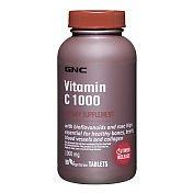 GNC Vitamine C 1000 avec bioflavonoïdes et Rose Hips 180 Comprimés caplets à libération lente
