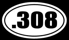 308-308-PREMIUM-Decal-5-inch-WHITE-Sig-Glock-Rifle-Patriot-Military-Hunting-Sniper-Firearm-car-truck-van-laptop-macbook-bumper-sticker