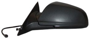 Mirror Black Chevy Replacement (TYC 1370232 Chevrolet Malibu Driver Side Power Non-Heated Replacement Mirror)