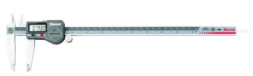 Starrett 798A-12/300 Digital Caliper, Stainless Steel, Battery Powered, Inch/Metric, 0-12