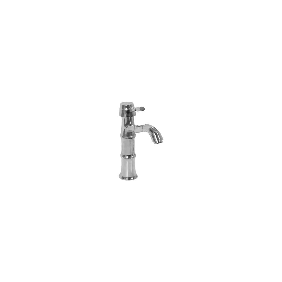 Legacy Brass 5323 Polished Chrome Bathroom Sink Faucets High Rise Single Lever/Hole lav Faucet