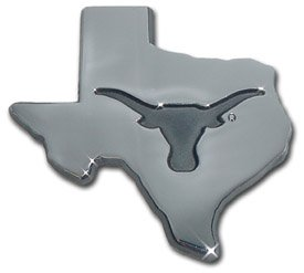 (University of Texas Longhorns UTX Debossed State Logo