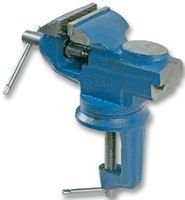 Pike & Co® Branded XDV0099PPT 60MM SWIVEL TABLE VICE WITH ANVIL (Pack of 1) - w/Min 3yr Warranty Pike & Co.®