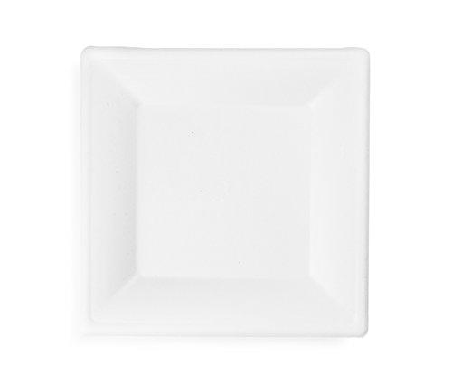 Vegware VPSQ-10 Square Plate, 10