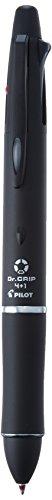 - Pilot Dr. Grip 4+1, 4 Color 0.7 mm Ballpoint Multi Pen & 0.5 mm Mechanical Pencil - Black Body (BKHDF1SFN-B)