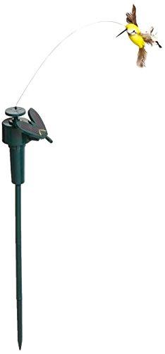 Solar Hummingbird, Solar / Battery Power Fluttering Flying Dancing Hummingbird , Outdoor or Indoor, Solar Powered or Battery Powered
