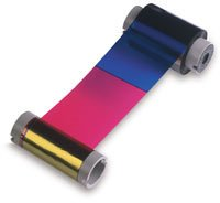 Sp35 Card Printer Accessories (Datacard Color Ribbon Kit For SP35 and SP55 Printers - 500 Image - Ribbon Cleaning Card Cleaning)