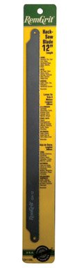 Disston E0406160 Remgrit Carbide Grit Hack Saw Blades, Medium Grit, 12 x 3/4 x .025-Inch