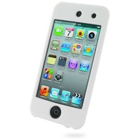 PDair Luxury Silicone Case for Apple iPod Touch 4th (8GB/32GB/64GB) (White)
