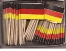 Germany Flag Toothpicks Package 100 product image