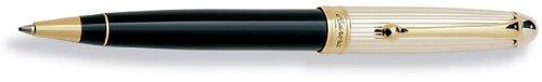 Aurora Silver Cap/Black Barrel (Aurora 88 Ballpoint Pen)
