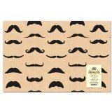 Mustache Gift Wrap Paper - 2 Sheets ()