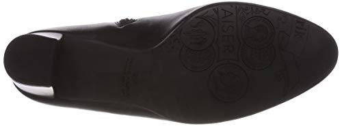Kolda Kaiser Negro Peter Mujer Para 153 schwarz Botas Glove Plisadas 1H5WZ5q7w