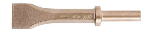 Ampco Safety Tools CR-10-ST Pneumatic Chisel, Non-Sparking, Non-Magnetic, Corrosion Resistant, 1-1/4'', 6-3/4'' Length
