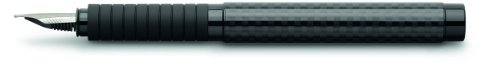 Faber-Castell Carbon Basic Black Fountain Pen with Fine Nib