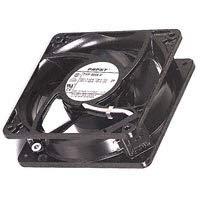EBM-PAPST 4656X AC Fans 119x38mm 230VAC 106CFM 18W 2650RPM 51dBA BB, 2 Terminals, Metal Frame ()
