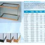 OCEANIC SYSTEMS INC. All Glass Aquarium AAG10021 Tank, 20l