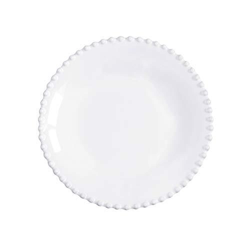 COSTA NOVA Pearl Collection Stoneware Ceramic Soup/Pasta Plate 9.5