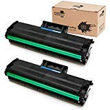 MIROO 2xBlack 101 Toner Cartridge Samsung MLT-D101S MLTD101S High Yield,Use on Samsung SCX-3405W ML-2165W SCX-3405FW ML-2161 ML-2166W ML-2160 ML-2165 SCX-3400 SCX-3401FH SCX-3406W ML-2161 Printer