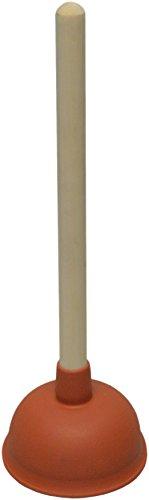 sanicomfort Ausgussreiniger 110 mm Durchm., Buchenholzstiel 350 mm, 1887556