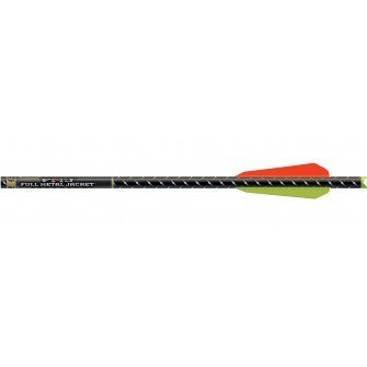 Easton FMJ Crossbow Bolts Moon Nock (6-Pack), 22-Inch/3-Inch, BTV Vanes