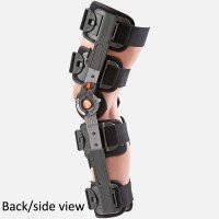 Breg T Scope Premier Post-Op Knee Brace - Universal Adjustable Size Left or Right for Recovery Stabilization