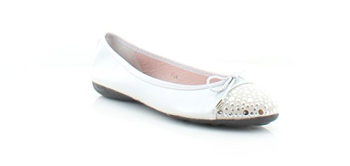 Paul Mayer Attitudes Brill Brighton Women's Flats & Oxfords Silver Size 8.5 M