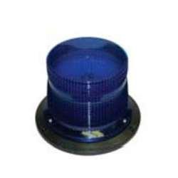 Wheelock - DC-MAX-B - MAX industrial strobe ( Double Flash ) Blue lens, 10.5 - 31.0 vdc
