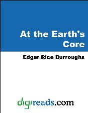 book cover of At the Earth\'s Core