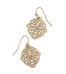 DIARY Gold retired lia sophia Earrings