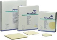 PermaFoam Non-Adhesive Standard Foam Tracheostomy Dressing 3.2'' x 3.2'' (10/BX) by Hartmann-Conco Inc (Image #1)