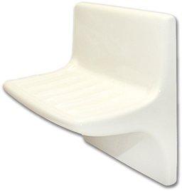Ceramic Lavatory Soap Dish - White