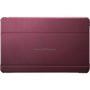 Samsung Book Cover Case for ATIV Tab 5 - Red (AA-BS5NBCR/US)