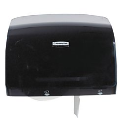 Kimberly-Clark 34831 Professional Coreless Jumbo Roll Bathroom Tissue Dispenser, 15 Percent More Tissue per Roll Than Standard Tissue Dispensers, Modern and Modular Design, Plastic, Smoke Color