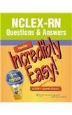 NCLEX-RN Made Incredibly Easy set- questions and answers book and review book- over 10,000 questions