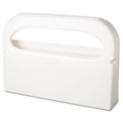 Toilet Seat Cover Dispenser, Plastic, White, Half-Fold - 2/Box (1 Box) by Hospeco