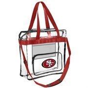 2013 Nfl Football Clear See Thru High End Messenger Bag - Pick Team (san Francisco 49ers) - San Francisco 49ers Nfl Football