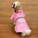 Guardian Gear Rain Jacket for Pets, X-Small, Pink